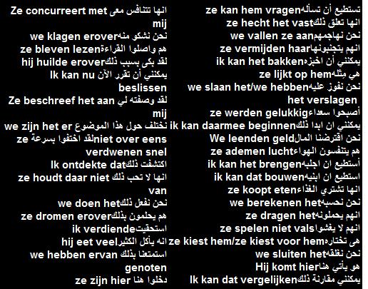 جمل هولندية شائعة تستخدم في حياتك اليومية