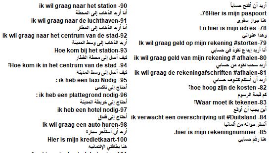 نقدم لكم 50 جملة هولندية جديدة مهمة تفيدكم وين مكان