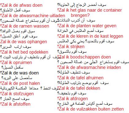 تعلم اللغة الهولندية 20جملة