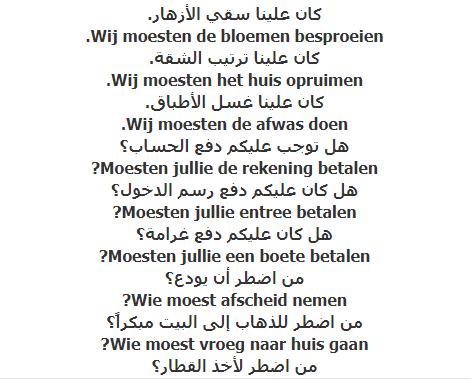 الدرس الخامس والسبعون – صيغة الماضي للأفعال الواصفة للحال 1– دورة تعليم اللغة الهولندية