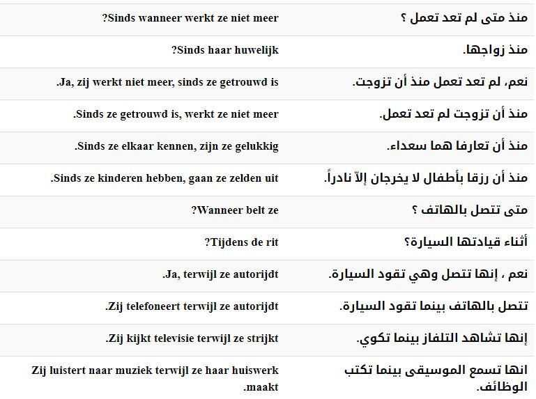الدرس الرابع والثمانون – أدوات الربط (الجزء الثاني) –– دورة تعليم اللغة الهولندية